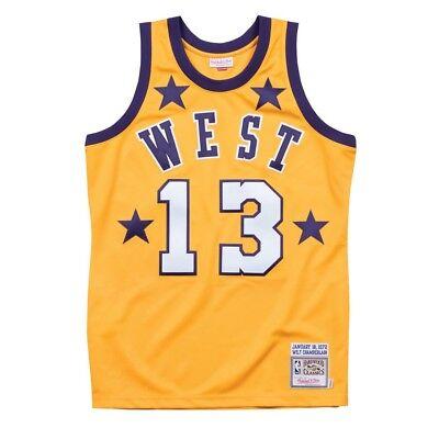 Wilt Chamberlain 1972 NBA All Star West Mitchell & Ness Authentic Jersey Men's