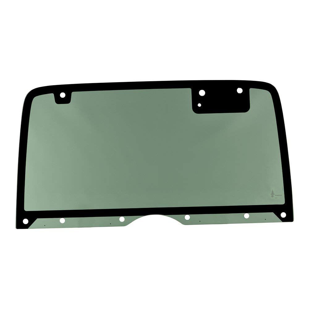 New Rear//Back Non-Heated Green Glass with 10 Holes For Jeep Wrangler YJ 87-1995