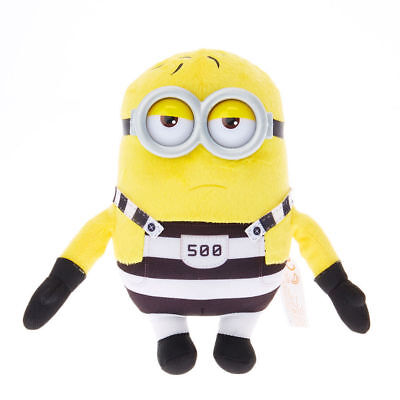 despicable me 3 minion soft toy in breakout prison outfit Tom new with tags - Despicable Me Minion Outfit