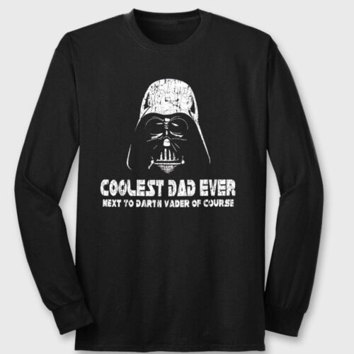 a00acbc1e Darth Vader Coolest Dad Ever Star Wars Funny T-Shirt Long Sleeve Tee Shirt