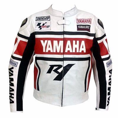 Valentino Rossi Yamaha Motorbike Motorcycle Motogp Leather Jacket (Big Sale) for sale  Shipping to United States
