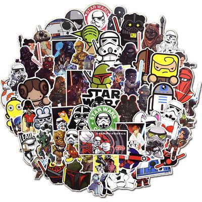 100Pcs Star Wars Vinyl Stickers Graffiti Bomb Decals Pack Car Laptop Skateboard