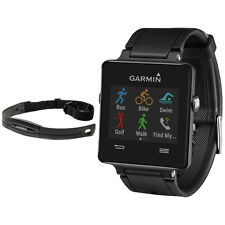 Garmin Vivoactive GPS-Enabled Fitness Smartwatch Black with Heart Rate Monitor