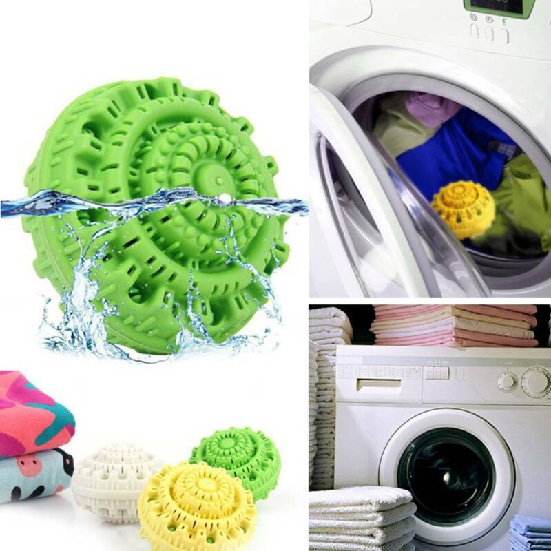Magic Laundry Ball Dryer Ball Washing Clothes Bamboo Charcoa
