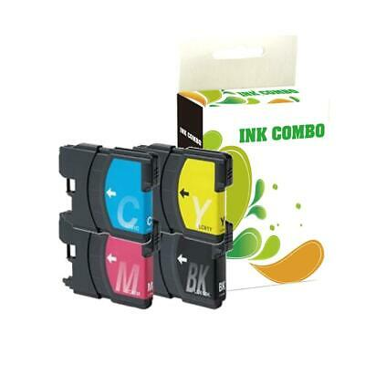 4 pk LC61 ink set for Brother MFC-490CW MFC-6490CW MFC-J615W Printer BEST