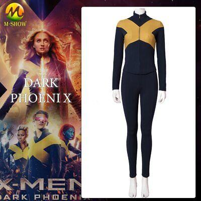 X-Men Dark Phoenix Cosplay Costume X-men uniform Halloween costumes for adult - X Men Costumes For Adults