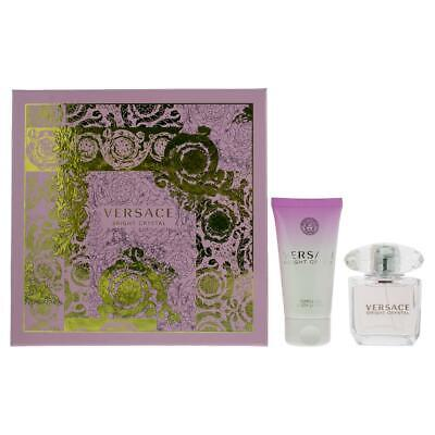 Versace Bright Crystal Eau de Toilette 30ml & Body Lotion 50ml Gift Set For Her