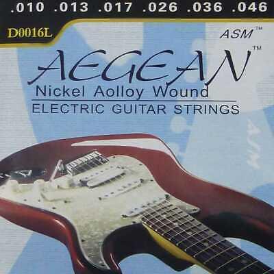 Kit Cuerdas Profesional para Guitarra Electrica Nickelplated Steel Metal M01