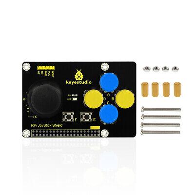 Keyestudio Rpi Joystick Shield Keypad Ps2 Game Board Module For Raspberry Pi