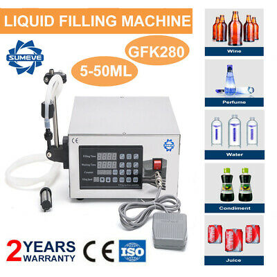 Liquid Filling Machine Automatic Digital Control Water Bottle Filler 2-3500ml