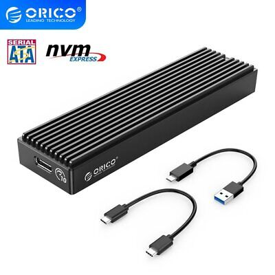 M.2 NVME Enclosure SATA NGFF USB Case Gen2 10Gbps PCIe SSD Case 5Gbps SSD Box