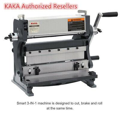 Kaka 3-in-112 12-in Sheet Metal Brake Shear Brake Roll Combinations