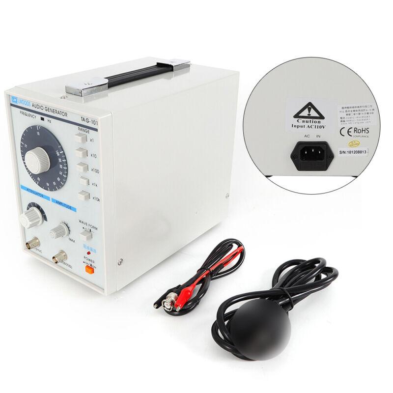 Low Frequency Audio Signal Generator Signal Source 10Hz-1MHz TAG-101 110V 5W USA