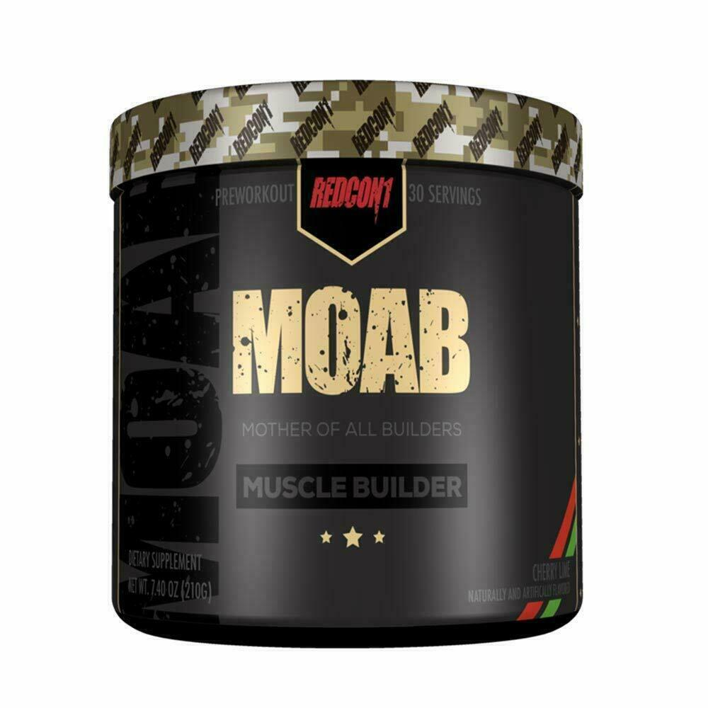 Redcon1 MOAB Muscle Builder 30 Servings + FREE SHAKER - ALL FLAVORS FREE SHIP  3