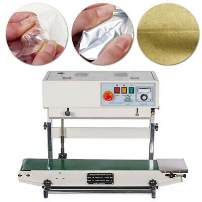 New Automatic Band Sealer Vertical Horizontal Plastic Bag Sealing Machine Stock
