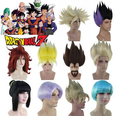 Wig Cosplay Dragon Ball Z Super Saiyan Trunks Vegeta Gohan Goku Android - Goku Wig