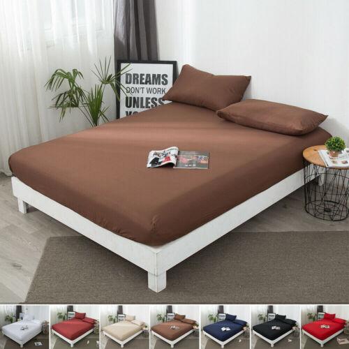 mattress cover protector elastic soft pure cotton
