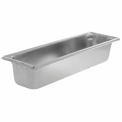 Vollrath Super Pan V Steam Table Pan 12 Size Long Stainless Steel - 4d