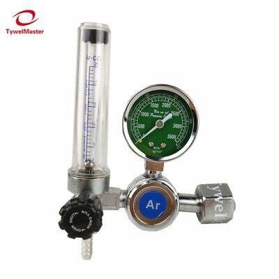 Argon Regulator Co2 Helium Nitrogen Inlet Mig Mag Tig Welding Gas Flowmeter New