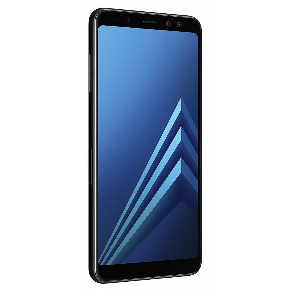 SAMSUNG GALAXY A8 2018 A530 LTE 32GB BLACK ANDROID SMARTPHONE HANDY OHNE  VERTRAG