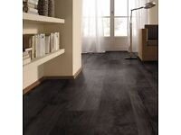 8mm Black Laminate Flooring Room deal (4 meter x 4 meter room)