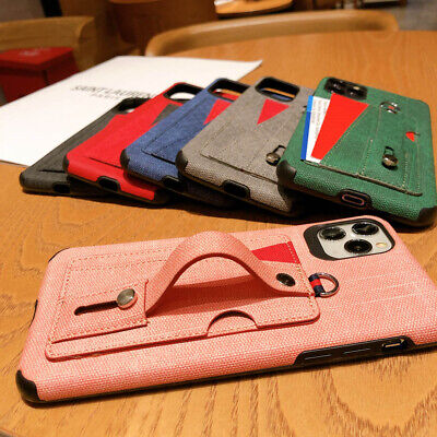 Card Holder Soft TPU Back Phone Cover Case For iPhone Max X XR Xs 6s 7 8 (Iphone 7 Phone Case With Card Holder)