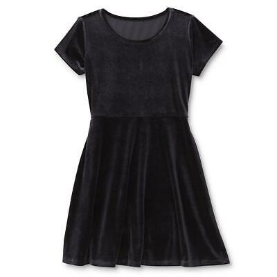 Holiday Editions Girls'  Velvet Skater Dress. asst colors & sizes 4/5 - 14/16