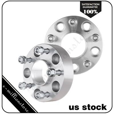 "2Pcs 1.5"" Hubcentric 5x4.75 Wheel Spacers Adapters For Chevy S10 GMC Pontiac"