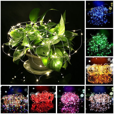 30LED Battery Copper Silver Wire String Fairy Lighs For Valentines Wedding Xmas