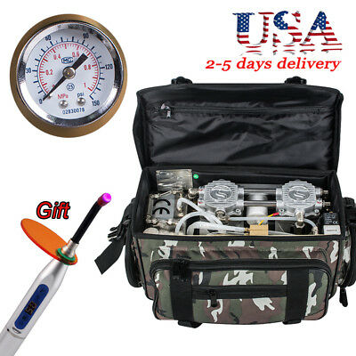 Usa Outdoor Dental Delivery Units Dental Turbine Unit 4 Hole With Air Compressor