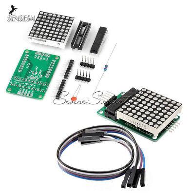 7219 Dot Led Max7219 Matrix Module Mcu Control Led Display Modules For Arduino