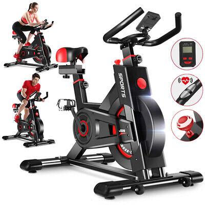 Indoor Fitness Fahrrad Heimtrainer Ergometer Fitness Bikes Pulsmesser Cardio DE