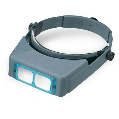 Donegan Optivisor Headband Magnifier - Donegan OptiVISOR® Headband Magnifier DA-5, 2-1/2X, GLASS LENSES (lo205)