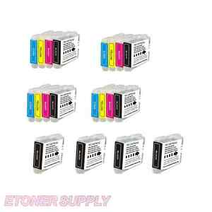 20 NEW HIGH CAPACITY LC51 ink cartridge for brother printer MFC-665CW MFC-685CW