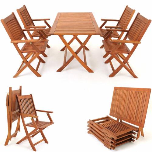 Garden Furniture - Wooden Dining Set Sydney Garden Chair Table Furniture Outdoor Patio Conservatory