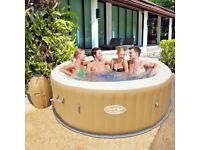 Bestway Lay-Z-Spa-Palm Springs Airjet Portable Inflatable Hot Tub - 1 Left! - Unbeatable Price