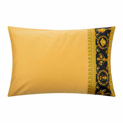 Versace Baroque Medusa Queen Size Pillow Case Set 2 pieces