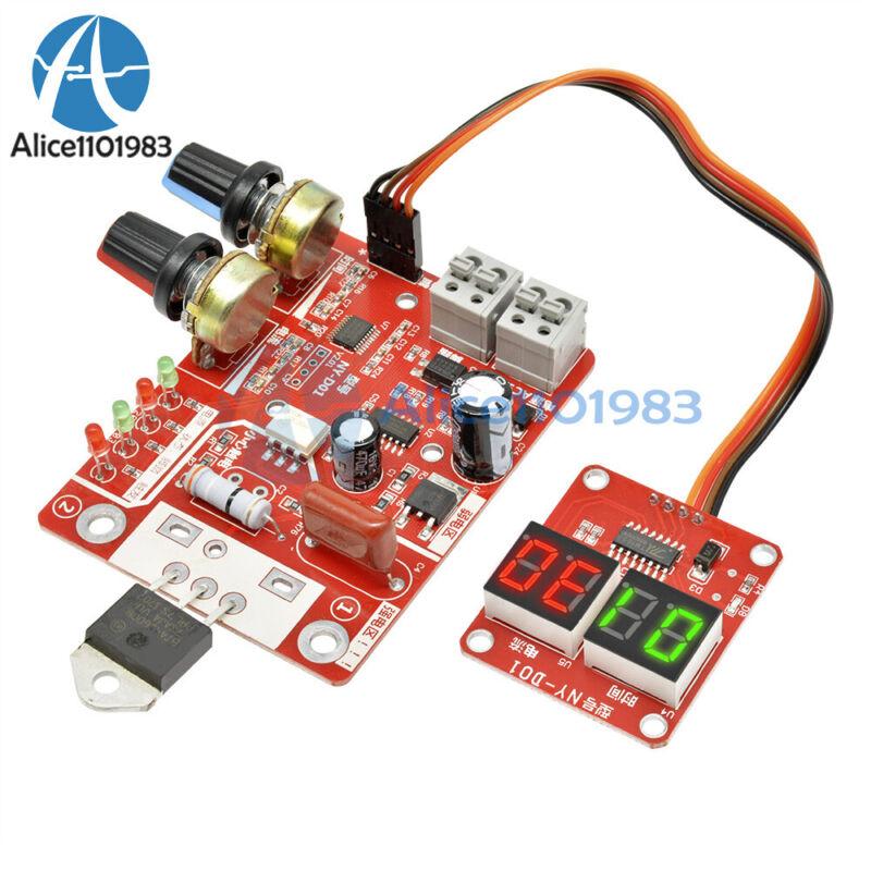 Digital 40a Spot Welder Machine Time Control Board Current Display Controller