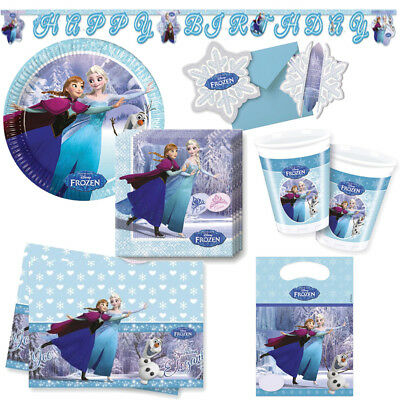 Disney Frozen Ice Skating Kindergeburtstag Auswahl Deko Party Geburtstag NEU