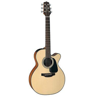 Takamine GX18CE-NS Taka-mini 3/4 Size Acoustic-Electric Guitar +Cable