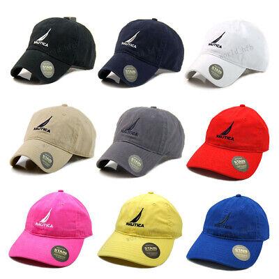 Nautica Hat Cap Women Men Baseball Golf Ball Sport Outdoor Casual Sun Cap