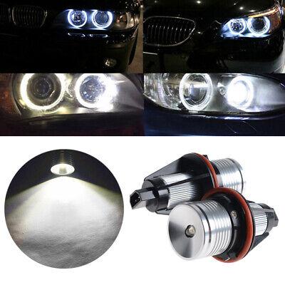 Bright White LED 6W Angel Eye Halo Bulbs Fit BMW E60 5-Series 2004-2007