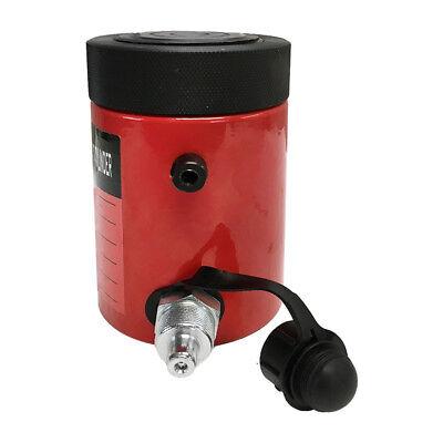 30 Ton Cap. Hydraulic Cylinder Ram 50mm Stroke Jack Ram Lifting With Lock Nut