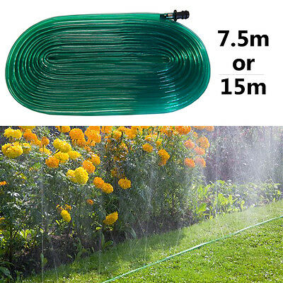 15M 7.5M BEST QUALITY SOAKER HOSE PIPE GARDEN DRIP IRRIGATION WATERING