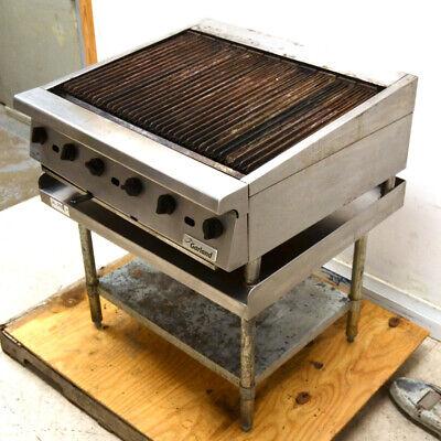 Garland Gtbg36 Commercial Gas Charbroiler Grill 6-burner Propane Countertop 36