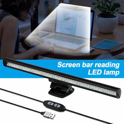 USB LED Desk Lamp Computer Laptop Monitor Screen Clamping Light Bar Home Office
