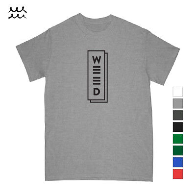 Funny Weed Cannabis Print T Shirt Novelty Graphic Shirts Designed Tee Gift Idea