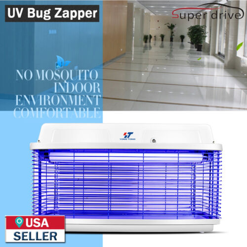 Waterproof 30W UV Light Electric Bug Zapper Insect Killer Fly Mos​quito Killer