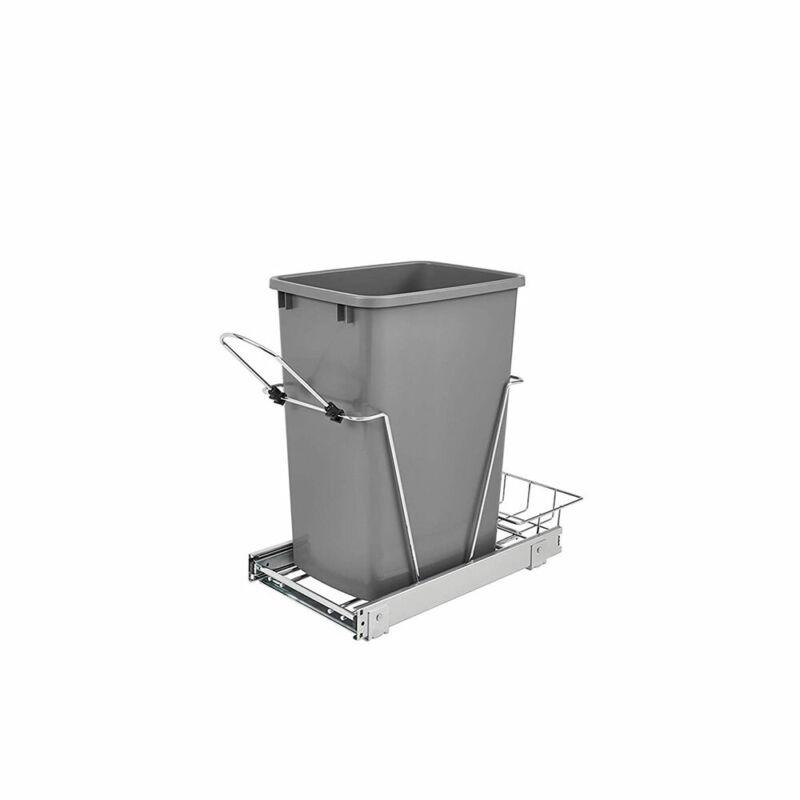 Rev-A-Shelf RV-12KD-17C S 35-Quart Cabinet Pullout Waste Container (Open Box)