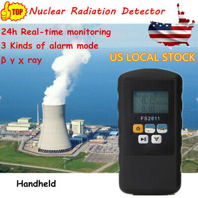 Lcd Nuclear Radiation Detector Realtime Monitoring Detector Geiger Counter Usa